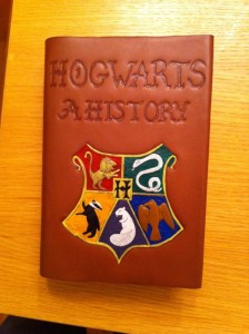 Hogwarts: A History Finished Book Cover